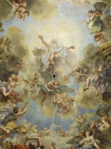 La chapelle royale: voûte by Antoine Coypel