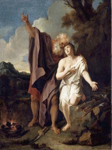Le Sacrifice d'Abraham by Antoine Coypel