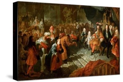 Louis XIV Receiving the Persian Ambassador in the Galerie Des Glaces at Versailles