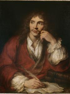 Molière à sa table de travail by Antoine Coypel