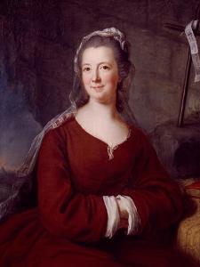 Portrait of Madame De Tencin by Antoine Coypel