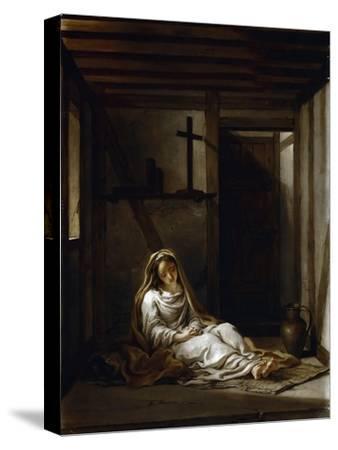 Saint Thaïs in Her Cell