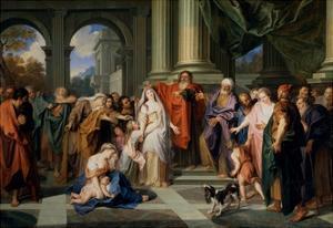 Susannah Accused of Adultery by Antoine Coypel