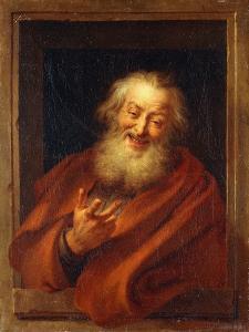The Cheerful Democritus, 1746 by Antoine Coypel