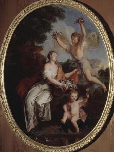 Zéphir et Flore by Antoine Coypel