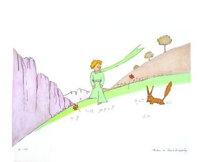 Le Petit Prince et le Renard (lg)