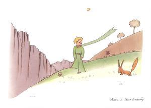 Le Petit Prince et le renard by Antoine de Saint Exupery