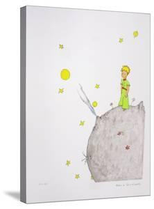 The Little Prince and the Volcano by Antoine de Saint-Exupéry