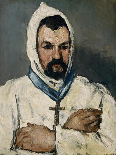 Antoine Dominique Sauveur Aubert, the Artist's Uncle, as a Monk, 1866-Paul Cezanne-Giclee Print
