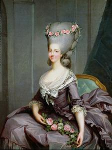 Marie-Therese De Savoie-Carignan (1749-92) Princess of Lamballe by Antoine Francois Callet
