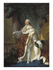 Portrait of Louis XVI by Antoine Francois Callet