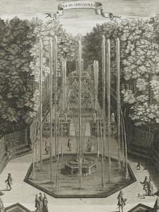 """Recueil des """"Plans, Profils et Elévations du Château de Versailles..."""" : planche 38 : vue by Antoine Herisset"""