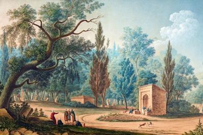 Fontaine De Sari-Yéri Pres Buyuk-Déré Ca. 1803-1809 by Antoine Ignace Melling
