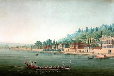Vue De La Partie Central De Buyuk-Déré Ca. 1803-1809 by Antoine Ignace Melling