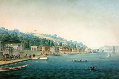 Vue De La Partie Orientale De Buyuk-Déré Ca. 1803-1809 by Antoine Ignace Melling