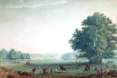 Vue De La Prairie Buyuk-Déré Ca. 1803-1809 by Antoine Ignace Melling