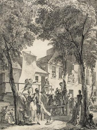 The Parade on the Boulevard, 1760