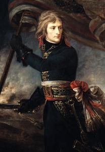 General Bonaparte (1769-1821) on the Bridge at Arcole, 17th November 1796 by Antoine-Jean Gros