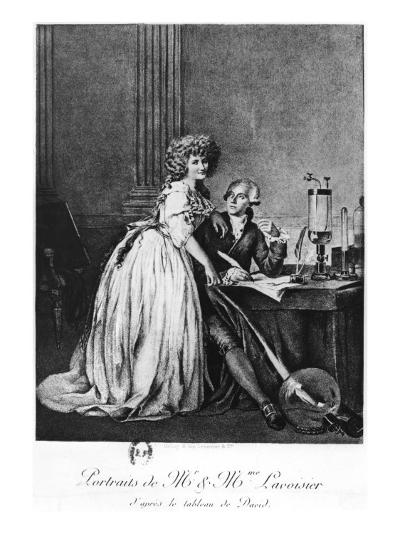 Antoine Laurent Lavoisier-Georges Ernest Profit-Giclee Print