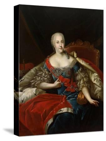 Portrait of Johanna-Elizabeth, Electress of Anhalt-Zerbst, (1712-176), C1746