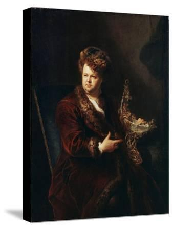 Portrait of the Jeweller Johann Melchior Dinglinger, C1721