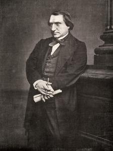 Ernest Renan, French Philosopher and Writer, 19th Century by Antoine-samuel Adam-salomon