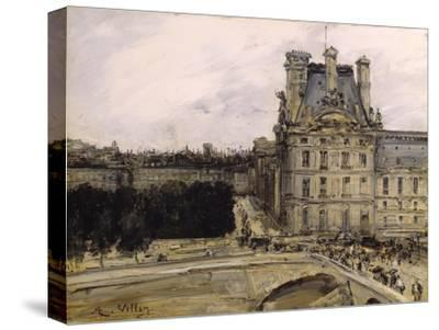 A Corner of the Louvre, 1885-1900