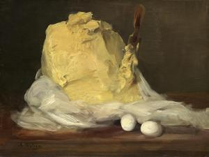 Mound of Butter, 1875-85 by Antoine Vollon
