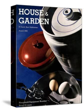 House & Garden Cover - August 1935