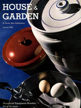 House & Garden Cover - August 1935