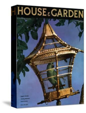 House & Garden Cover - August 1936