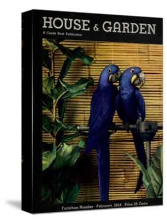House & Garden Cover - February 1934
