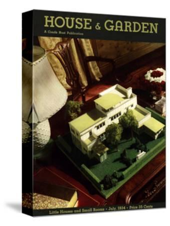 House & Garden Cover - July 1934