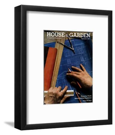 House & Garden Cover - September 1935