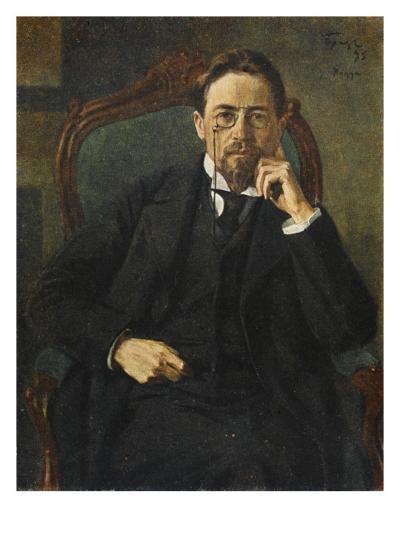 Anton Chekhov--Giclee Print