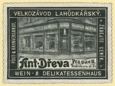 Anton Dreva Wine Shop and Delicatessen, Prague--Giclee Print