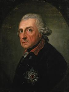 Frederick Ii (The Great) of Prussia, 1781 by Anton Graff