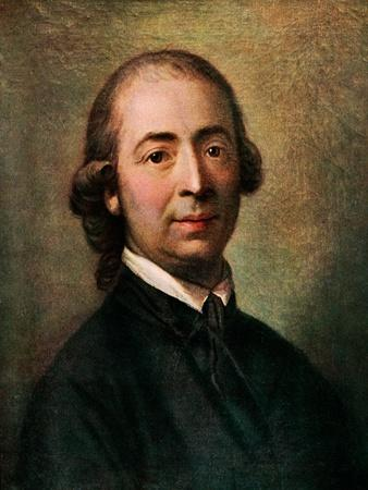 Gottfried Herder- portrait Painting