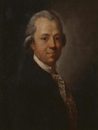 Portrait of German Writer and Publisher Christoph Friedrich Nicolai, 1783