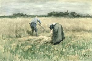 The Harvest by Anton Mauve