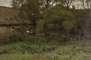 Vegetable Garden by Anton Mauve