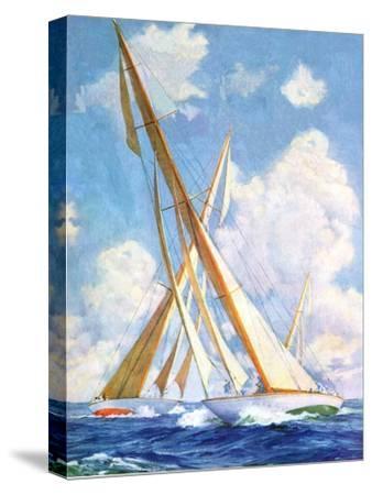 """""""Sailboat Regatta,""""September 8, 1934"""