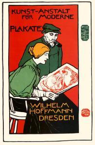 Wilhelm Hoffman, Dresden, c.1896 by Anton Otto Fischer