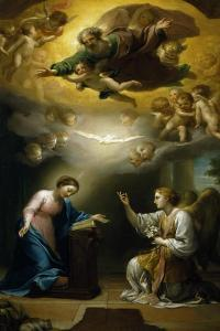 Annunciation by Anton Raphael Mengs