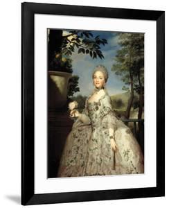 María Luisa of Parma, Princess of Asturias, Ca. 1765 by Anton Raphael Mengs