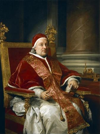 Portrait of Pope Clement XIII Rezzonico, 1758 by Anton Raphael Mengs