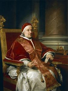 Portrait of Pope Clement XIII Rezzonico, 1758 by Anton Raphael Mengs