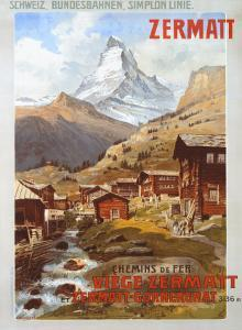 Swiss Alps, Zermatt Matterhorn by Anton Reckziegel