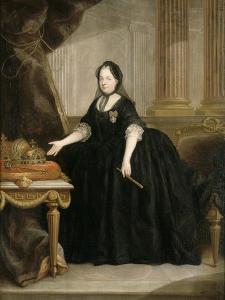 Marie-Thérèse de Habsbourg Impératrice d'Autriche, (1717-1780) Reine de Hongrie en 1740 et de by Anton von Maron