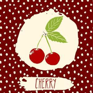 Cherry with Dots Pattern by Anton Yanchevskyi